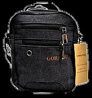 Мужская тканевая сумка GORANGD черного цвета GGG-007799