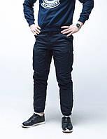 Теплые штаны карго Thor в темно-синем цвете