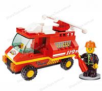 """Детский конструктор """"SLUBAN"""" Пожарная машина"""