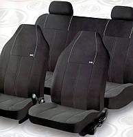 Чехлы модельные сидения ВАЗ 2107/2108/2109/2110 H&R Active-Lada №10312 черные (Ткань-пайнэпл Лайт)