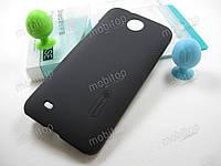 Чехол Nillkin HTC Desire 300 / 301e + пленка (черный)