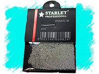 Бульйонки для декора металл серебро Starlet Professional
