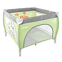 Детский манеж CARRELLO Grande CRL-7401 Grey+Green