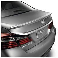 Спойлер багажника (лип спойлер, шабля, качиний хвостик) Honda Accord 2013-2015 р. в. Хонда Акорд