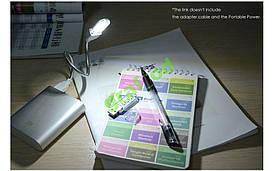 USB Led светодиодная лампа фонарик для Power bank