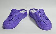 Шлепанцы женские Даго фиолетовые, фото 1