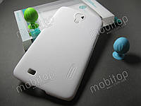 Чехол Nillkin Samsung Galaxy Mega 6.3 i9200 + пленка (белый), фото 1