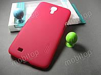 Чехол Nillkin Samsung Galaxy Mega 6.3 i9200 + пленка (красный)