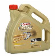 Масло моторное синтетическое Castrol EDGE Turbo Diesel Titanium FST 0W-30 4л.