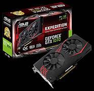 Видеокарта Expedition GeForce GTX 1070 OC пополнила модельный ряд ASUS