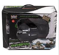 Танк 9364 Амфибия на радиоуправлении, стреляет водой, пульками