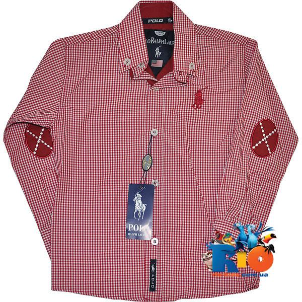 f9925230419 Детская рубашка в клетку