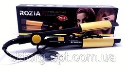 Утюжок для выпрямления и завивки волос Rozia HR705
