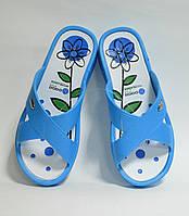 Сланцы женские Даго голубые оптом Украина ( 36 - 41), фото 1