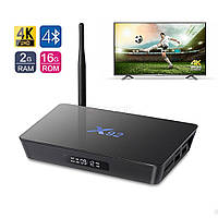 Smart Box X92 Amlogic 2 ГБ 16 ГБ 8 Ядер Android 6.0 TV Box WI-FI HDMI 2.0A 4 К