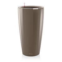 Умный вазон  Rondo 32 серо-коричневый глянец