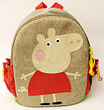 Дитячий рюкзак свинка Пепа, фото 2