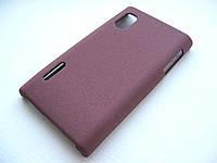 Пластиковый чехол LG Optimus L5 E610 / E612 / E615