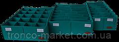 Комплект органайзеров из 3 шт с крышкой, фото 3