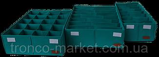Комплект органайзеров из 2 шт с крышкой, фото 3