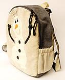 Детский рюкзак снеговик Олаф, фото 2