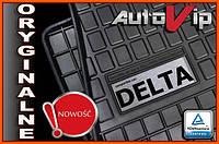 Резиновые коврики LANCIA DELTA 08-  с логотипом