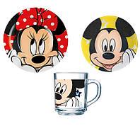 Набор детский Luminarc Disney Oh Minnie H6446 (3 предмета)