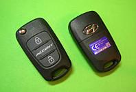 Hyundai - remote key 2 кнопки 433Mhz  I-20, HYN22 Оригинал