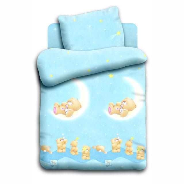 Сменный детский постельный комплект «Лунный мишка», Forever Friends