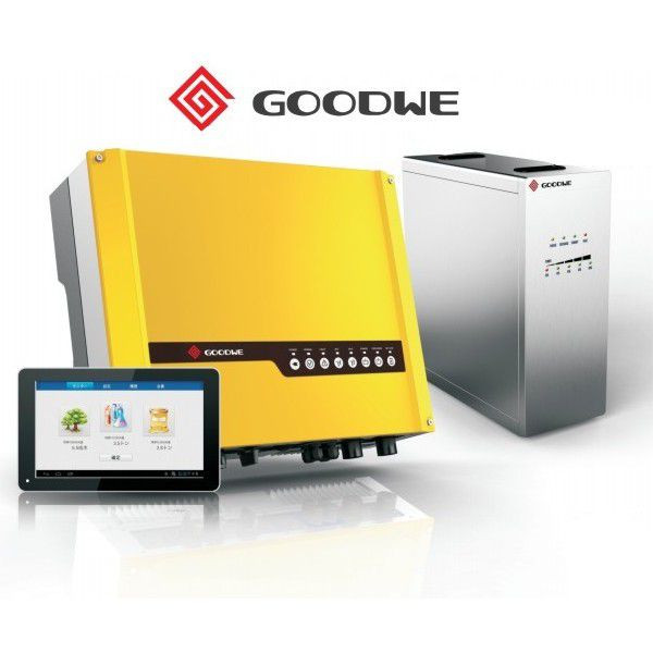 Гибридный солнечный инвертор GoodWe 4,6 кВт, 220 В