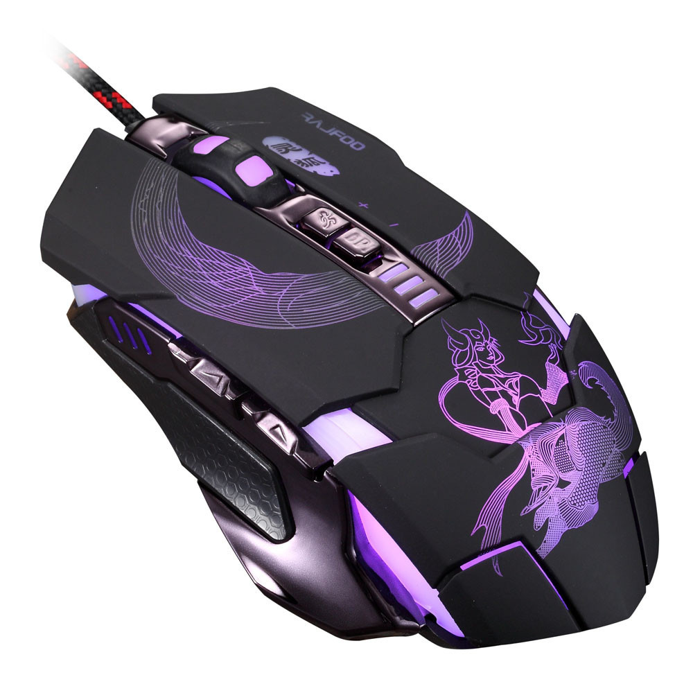 Игровая мышь Rajfoo 7D