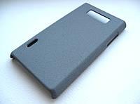 Пластиковый чехол LG Optimus L7 P705 (серый)