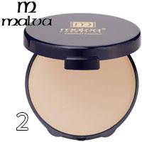 Malva - Пудра компактная Compact Powder M-413 Тон 02 золотистый загар