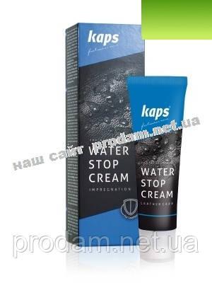 Крем для обуви kaps Water Stop ciemny braz