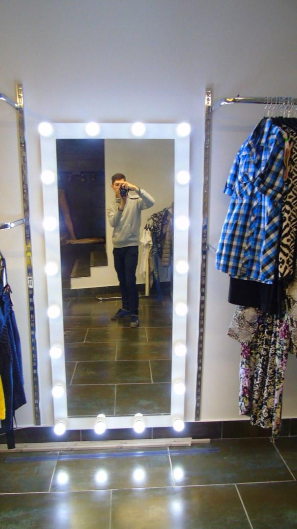 Зеркало для фотостудии, брендового магазина. Рстовое зеркало