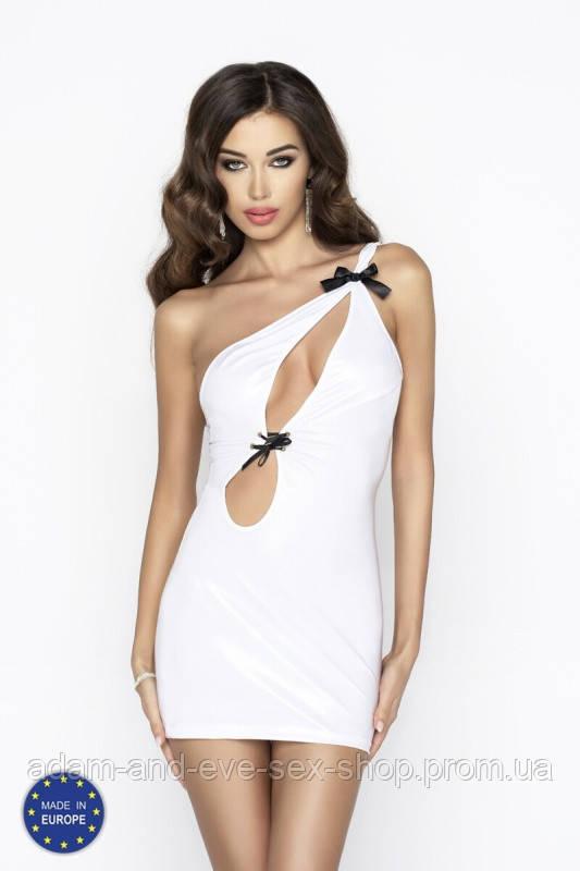 Белое сексуальное платье Passion Erotic Line CORNELIA DRESS , Белый, XXL\XXXL
