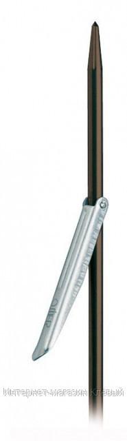 Гарпун O.M.E.R. 6,3 X 130 - нерж. сталь - флажок 7,4см