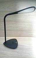 Настольная лампа светодиодная Maxus LED 6W черная