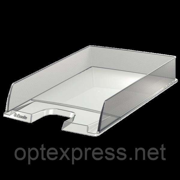 Лоток горизонтальный Europost, прозрачный 623606
