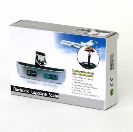 Весы ACS S 004 50KG LCD кантер для багажа!Акция, фото 2