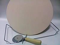 Камень для пиццы  Smile SKP-1 с ножом для нарезки