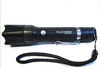 Фонарик BL 7030-2 police, Яркий белый и средний ультрафиолет!Акция