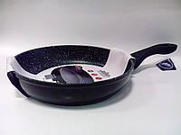 Сковорода из литого алюминия с гранитным покрытием Peterhof PH 25302-28