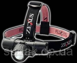 Налобный фонарь Zexus ZX-600 Seamaster 125 lm