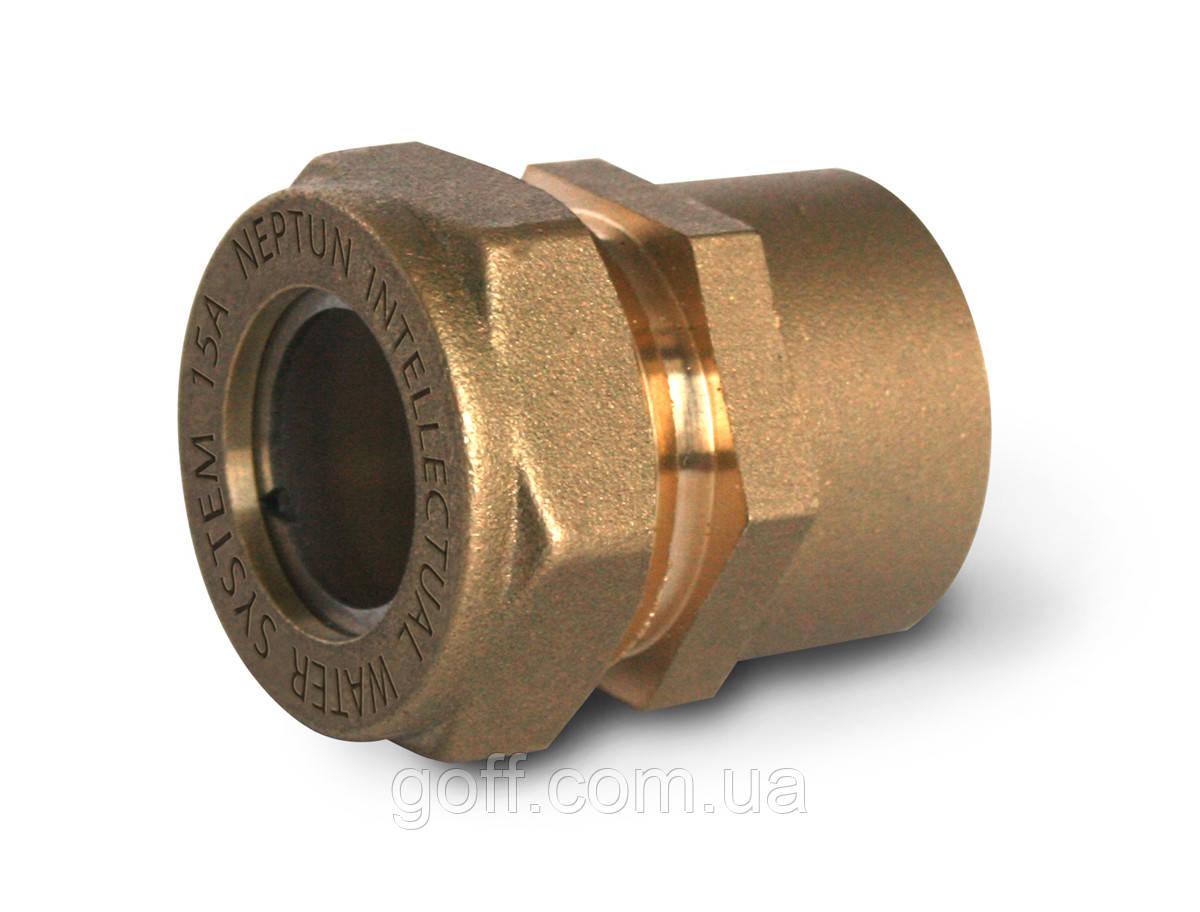 Муфта 15 мм. Фитинг 1/2 дюйма внутренняя резьба