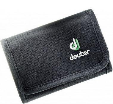 Стильний гаманець DEUTER TRAVEL WALLET BLACK 3942616 7000 колір чорний