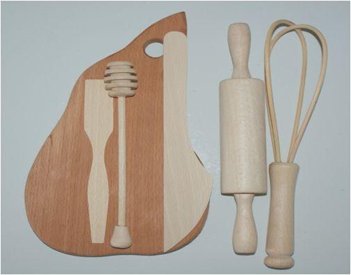 Кухонный набор юной хозяйки дерево K01215