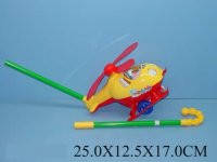Игрушка-каталка Вертолет 24 см, 0302