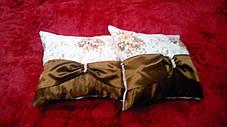"Подушка  ""Англия"" коричневая, размер 40х40см , фото 2"