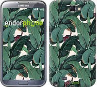 """Чехол на Samsung Galaxy Note 2 N7100 Банановые листья """"3078c-17"""""""